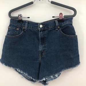 Levi's classic relaxed tapered 550 jeans shorts
